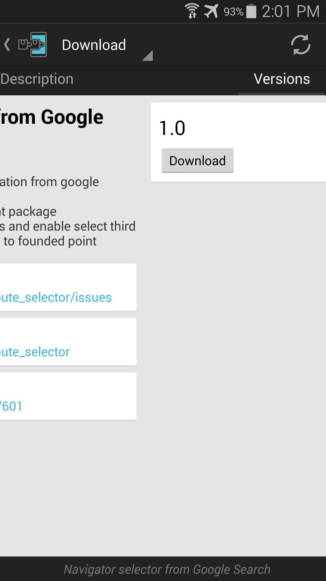 Launch Any Navigation App Directly from Google Search on Android