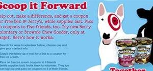 Do good, get free Ben & Jerry's ice cream