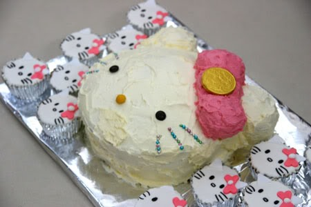 RECIPE: Hello Kitty Cupcakes