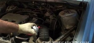 Check for a vacuum leak in your vehicle to improve performance