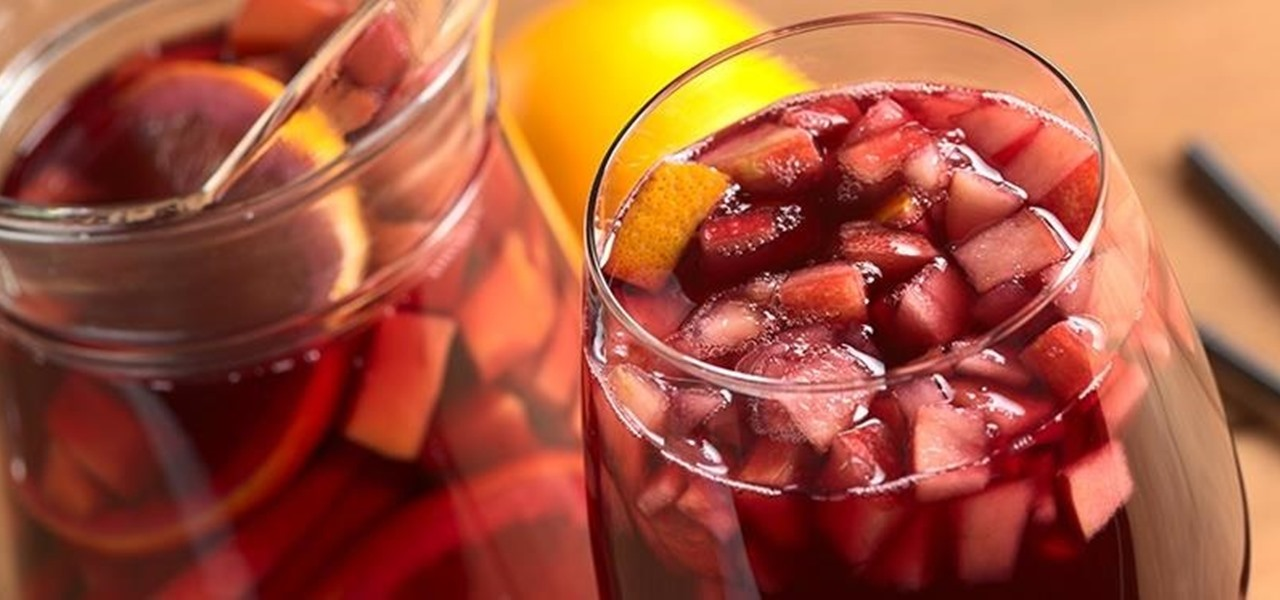 Make 24-Hour Sangria in 5 Minutes or Less