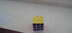 Use Rubik's Cube algorithms