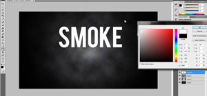 Create a cool smoke text effect using Adobe Photoshop