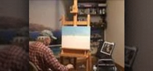 Do an oil painting from start to finish