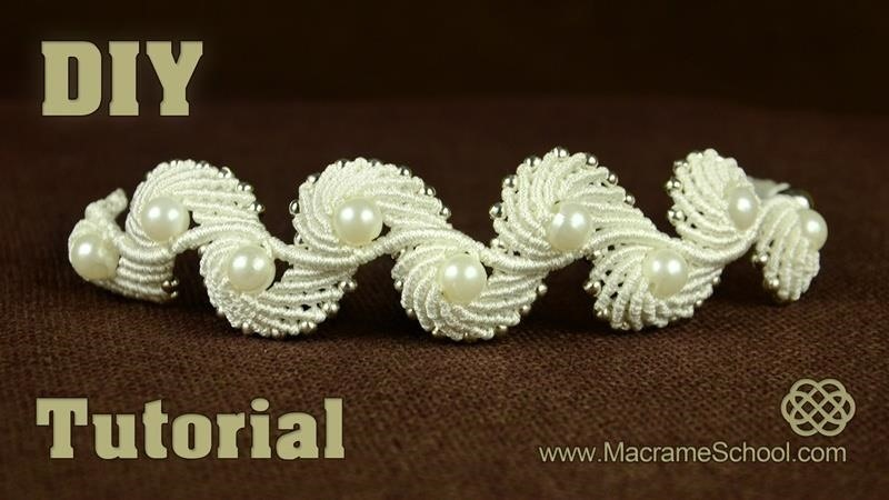 Angel Wings & Macrame Shell Bracelet Tutorial