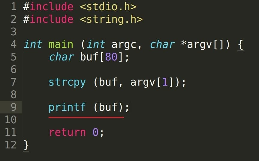 Security-Oriented C Tutorial 0x14 - Format String Vulnerability Part I: Buffer Overflow's Nasty Little Brother