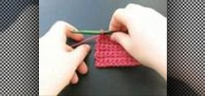 Crochet a bind off stitch