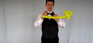 Make a simple balloon helicopter