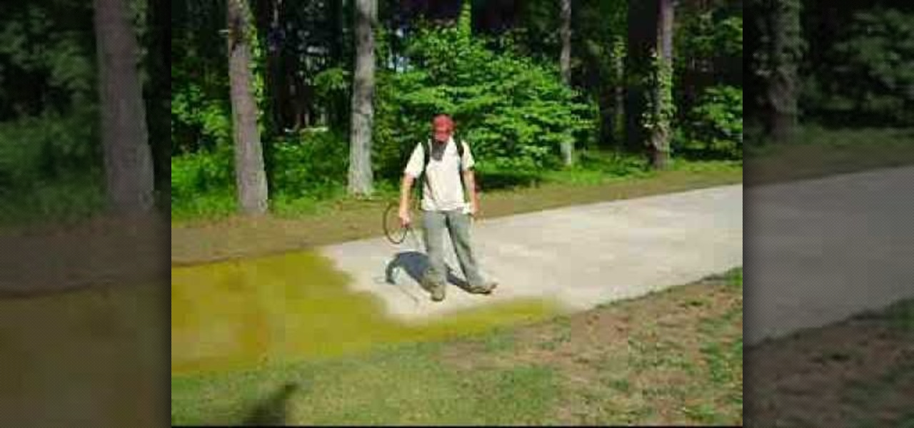 How to stain your concrete driveway landscaping for Getting grease off concrete