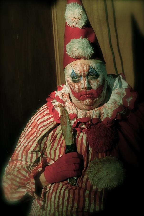 Film star Randal Malone as John Wayne Gacy.