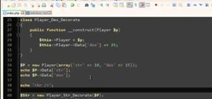 Utilize the Decorator design pattern in your PHP programming