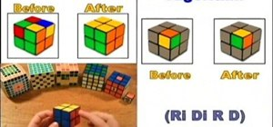 Solve the 2x2 Rubik's Cube Mini puzzle
