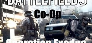 Beat the 'Operation Exodus' co-op mission in Battlefield 3