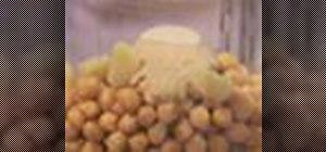 Make hummus dip
