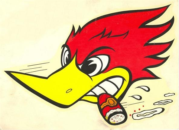 Woody the woodpecker face - photo#16
