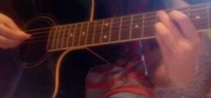 "Play ""Butterfly Fly Away"" by Miley Cyrus on guitar"