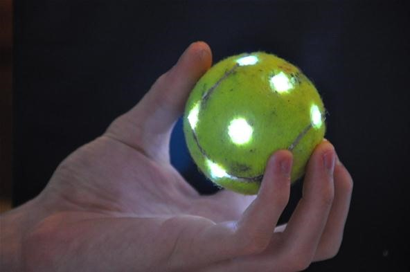 How to Make a Glowing Orb with a Tennis Ball & LEDs