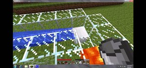 Build an auto-regenerating wall with the Pistons mod in Minecraft