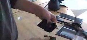 Make an iPhone belt buckle