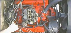 Break in a new camshaft when building an engine