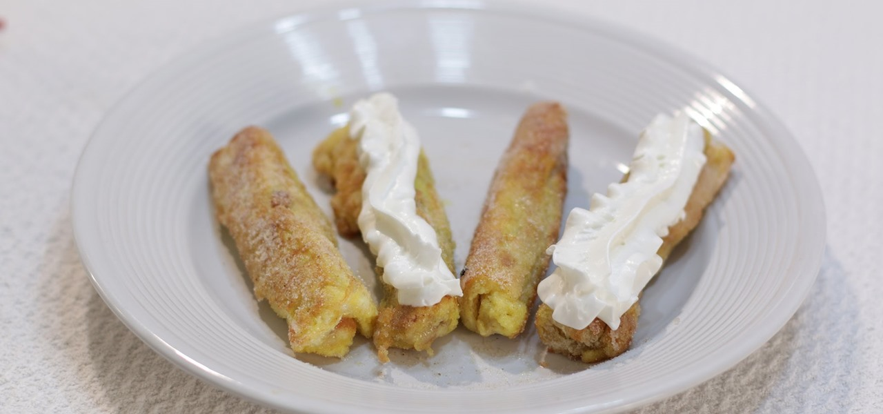 Make Amazing French Toast Roll Ups