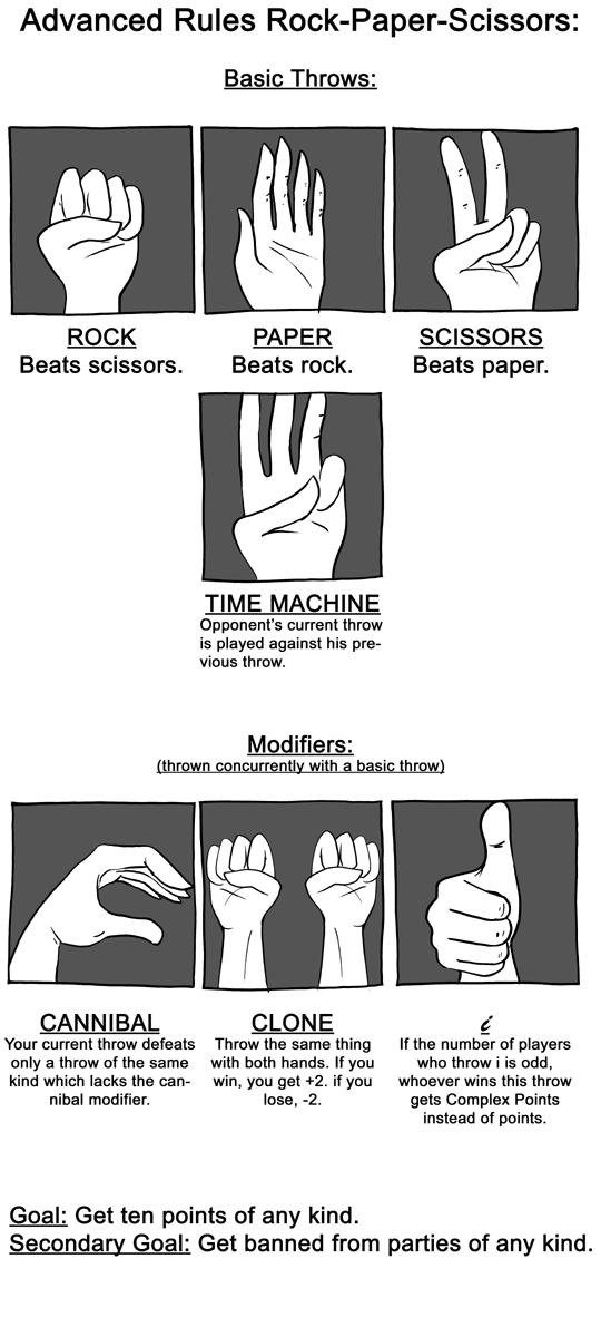 Advanced Rock-Paper-Scissors