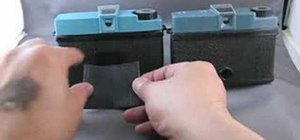 Make a velcro modification for a Diana camera