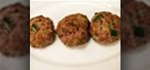 Cook easy Italian meatballs with marinara sauce