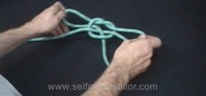 Tie the Handcuff knot