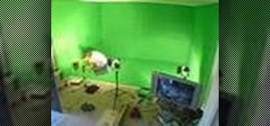 Build a green screen