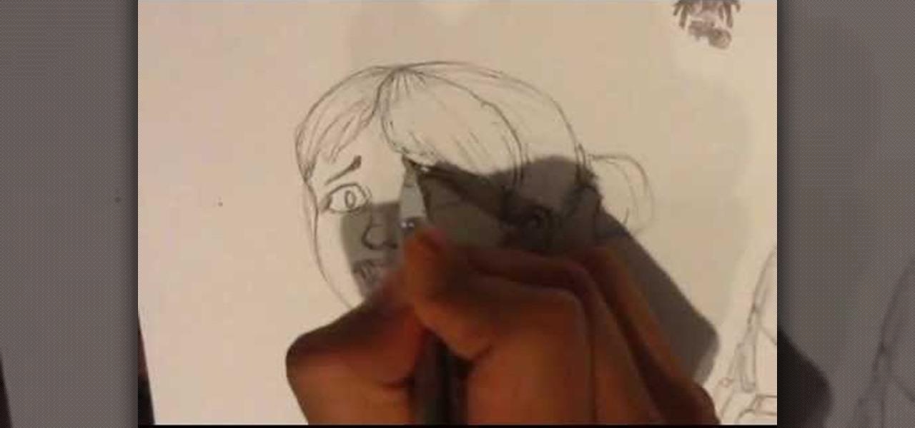 Draw a Vampire Child
