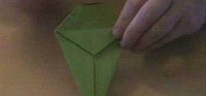 Origami a tyrannosaurus