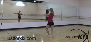 Perform a basic pirouette