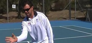 Improve your forehand and backhand volley in Tennis