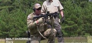 Clear M4/AR15 rifle malfunctions