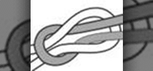 Tie the square knot for boating