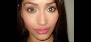 Apply a hot, stunning makeup look inspired by Megan Fox