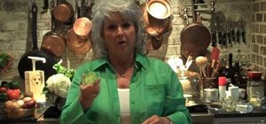 Prepare fried green tomatoes with Paula Deen