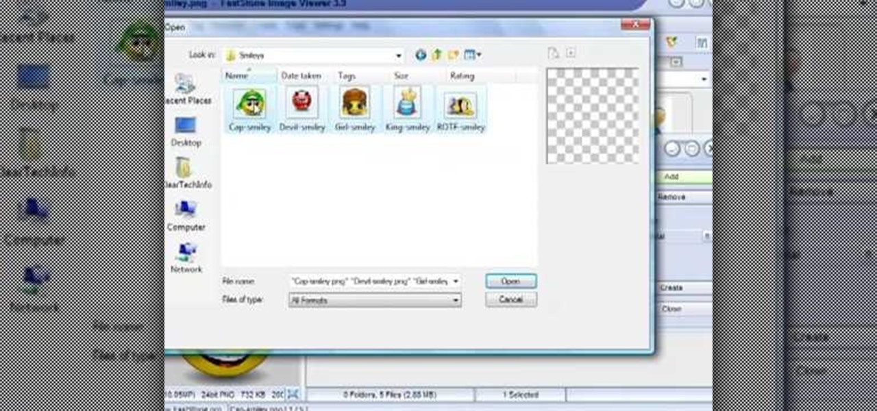 How to Make an image strip using FastStone Image Viewer