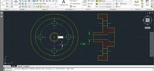 Set the current layer by selecting an object in AutoCAD 2011