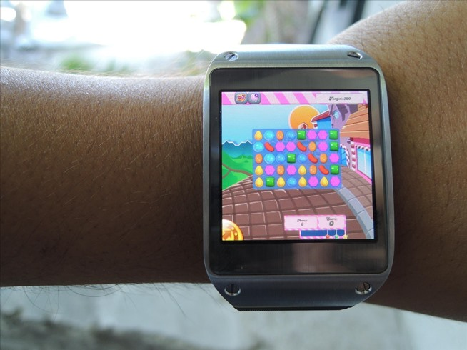 bit harder to play—but who cares? YOU GOT CANDY CRUSH ON YO' WATCH