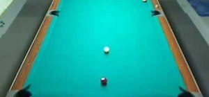 Improve your shot-making accuracy when playing pool