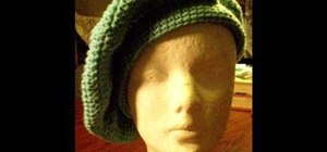 Crochet a basic beret
