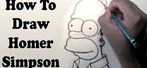 Draw the Simpson's Homer Simpson