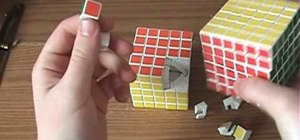 Modify the V-Cube 5 to remove outer layer clicking
