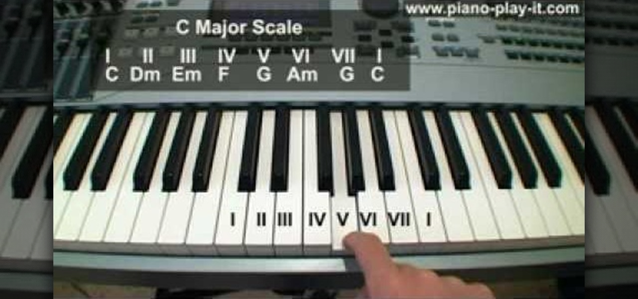 How to Recognize which chords belong to which piano scales u00ab Piano u0026 Keyboard