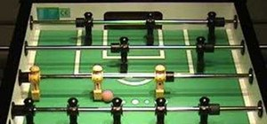 Score foosball goals with the pull shot