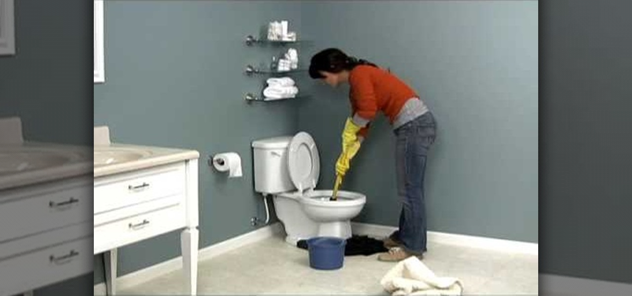 how to properly unclog a toilet construction repair. Black Bedroom Furniture Sets. Home Design Ideas