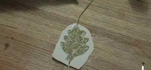 Makea leaf table runner