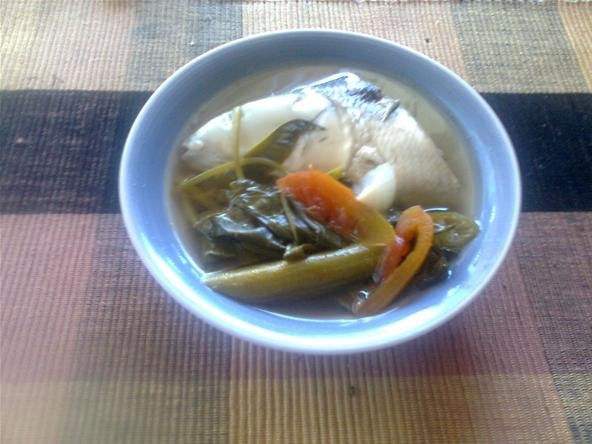 How to Cook a Simple Sinigang Na Bangus (Milkfish Stew)